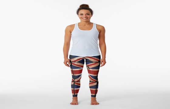 Union Flag Leggings